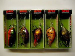Rapala Dives To DT-10 Fishing Lures 5 Colors All Crawdad!