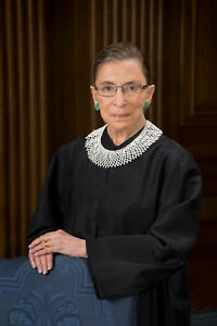 RUTH BADER GINSBURG GLOSSY POSTER PICTURE PHOTO PRINT SUPREME COURT WOMEN