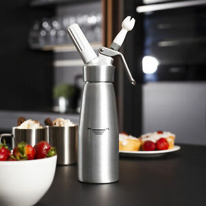 500ml Whipped Cream Dispenser Attachments Included Decorating Nozzles Mamp;W $30.99