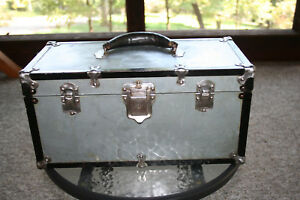 CONVERTED UNION WOOD TOOL BOX (from 1929-1932) to a TACKLE BOX (LOADED)!!!!
