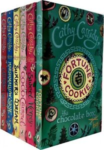 Chocolate Box Girls Collection Cathy Cassidy 6 Book Set -Fortune cookie Coco c