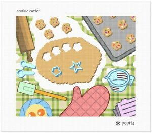 Cookie Cutter Needlepoint Kit or Canvas (Home)