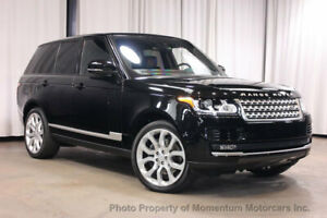 2016 Land Rover Range Rover 4WD 4dr Supercharged 4WD 4dr Supercharged VISION ASSIST DRIVER ASSISTANCE 22 INCH WHEELS Low Miles