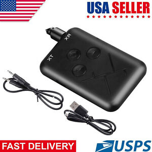 2in1 Transmitter & Receiver Wireless A2DP for TV Stereo Audio Adapter