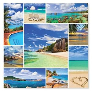 Melissa & Doug 1000-Piece Photos From Paradise Tropical Beaches Jigsaw