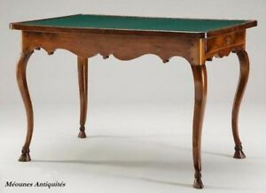 French antique furniture: 18th C card table