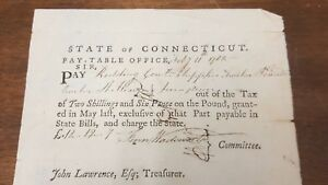 Connecticut Pay Table