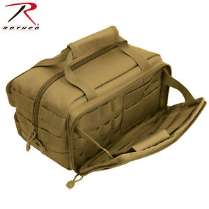 Rothco Tactical Tool Bag In Coyote Brown Heavyweight Polyester Construction