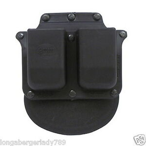 FOBUS PADDLE HOLSTER DOUBLE MAG MAGAZINE CASE POUCH 4 GLOCK 36 S