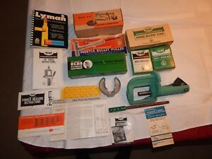 COMPLETE RCBSLYMAN RELOADING OPERATION USED IN ORIGINAL BOXES