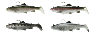 Savage Gear 3D Real Trout Swimbait Soft Body Swimbait Bass amp; Pike Lure