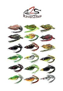 River2Sea Frog River2Sea Bully Wa 2 65 Topwater Frog 2 5 8quot; Frog Bass Bait