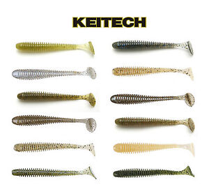 Keitech Swing Impact Paddle Tail Swimbait 3quot; 7.6 Cm 10 Pack Keitech Lures