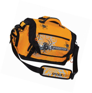 Spiderwire Soft-Sided Fishing Tackle Bag with 4 large utility lure box storage c