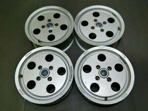 The Design of Lamborghini Countach Campagnolo Rear Wheels 15' for Skyline AE86