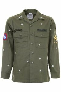 As65 army jacket with embroidery Y1740 Army Green - Authentic