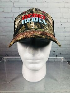 Rebel Fishing Lures Camo Strapback Hat Ball Cap One Size