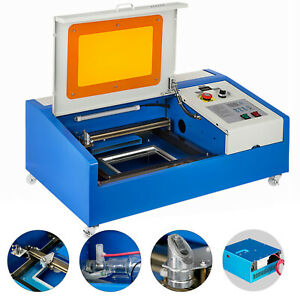Upgraded 40W CO2 Laser Engraver Cutting Machine Crafts Cutter USB Interface $389.93