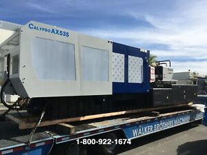NEW 2019 535 Ton Calypso AX535 IMM Injection Molding Machine Ref # 7796827