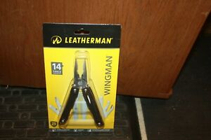 Leatherman (831425) Wingman Multi-Tool w Sheath Silver 14 Tools NEW
