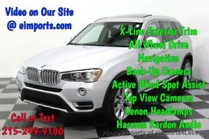 2017 X3 CERTIFIED X3 xDrive28i XLINE AWD NAV CAM PANO BLIS Call Now to Buy Now NATIONWIDE SHIPPING AVAILABLE competitive financing