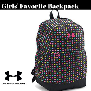 Under Armour Girls' Favorite Backpack Black (003)Harmony Red One Size # A21