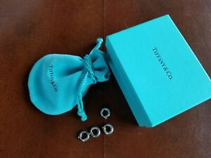 Tiffany & Co. Sterling Silver - 4 Spring Rings for Charm Bracelet Set #2