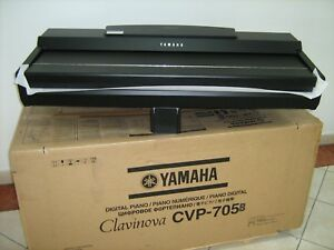 PIANO YAMAHA CVP 705B CLAVINOVA CVP705 B DIGITAL BLACK WORKSTATION KEYBOARD NEW