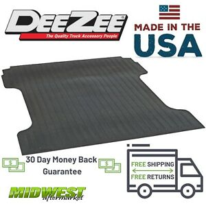 Dee Zee Rubber Bed Mat Fits 2015 2019 Chevrolet Colorado GMC Canyon 5#x27; Bed