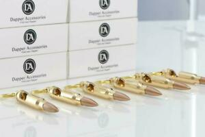 6 Individually Packed Bullet Bottle Opener Keychains - Strong And Durable - Perf
