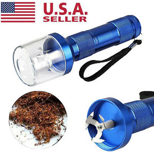 Electric Aluminum Alloy Metal Grinder Crusher Tobacco Smoke Spice Herb Muller US $8.89