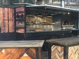 Mobile Wood Fired Pizza Truck