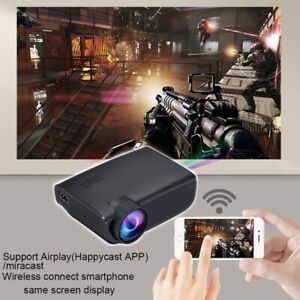 1080P AndroidIOS WiFi 3D 4K HD LED Projector Home Theater Cinema High Lumens