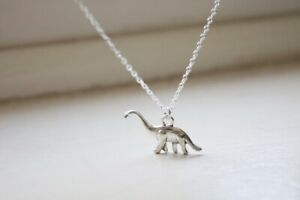 Jewelry Dinosaur Necklace Pendant, Antique Silver Tone,Women's Necklace, Men's