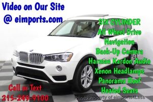 2016 X3 CERTIFIED X3 xDrive35i AWD HUD NAV CAM PANO Call Now to Buy Now NATIONWIDE SHIPPING AVAILABLE competitive financing