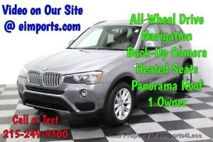 2016 X3 CERTIFIED X3 xDrive28i AWD NAV CAM PANO Call Now to Buy Now NATIONWIDE SHIPPING AVAILABLE competitive financing