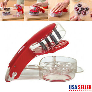 Cherry Pitter Stone Olive Seed Corer Kitchen Handheld Remover Machine Canning $8.33