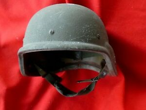 US PASGT Kevlar Helmet SMALL Stemaco mfr 1987 EARLY  w Suspension
