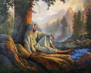Greg Olsen Paper Lithograph Print AWESOME WONDER 22X30 Limited Edition $75.00