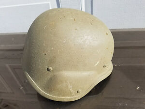 Ballistic Helmet US Military Issue PASGT Unicor Size med-large made with Kevlar