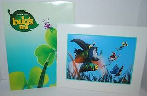 Disney Lithograph A Bug#x27;s Life Exclusive Store Commemorative $8.95