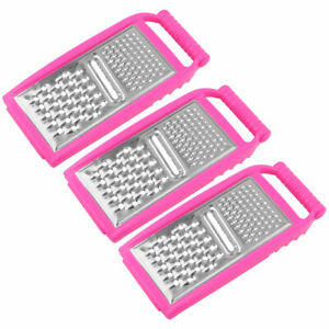 Kitchen Vegetable Fruit Slicer Peeler Dicer Cutter Carrot Chopper Grater 3 PCS