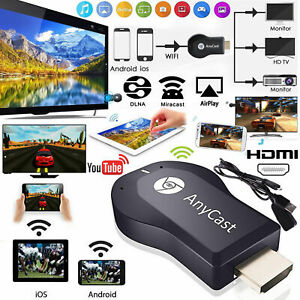 AnyCast DLNA Miracast 1080P HDMI Wifi Display Receiver Dongle Android TV R5A8V