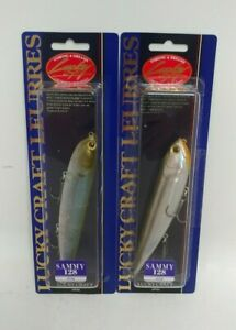 (2) Lucky Craft Sammy 128 Top Water Fishing Lures Lot of 2