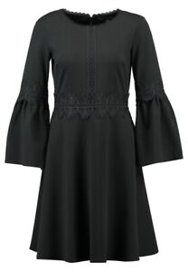 Banana Republic Black Bell Sleeve Cocktail Dress Size 0 NWT