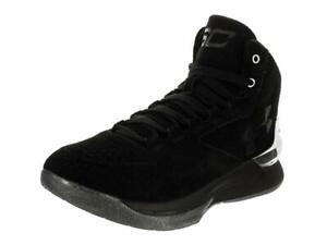 Under Armour Mens UA Jet Basketball Shoes Lead