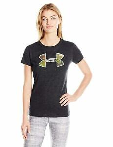 Under Armour Women's Charged Cotton Camo Logo T-Shirt