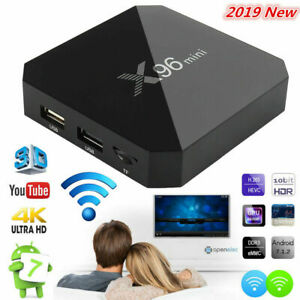 X96 Mini Android Smart TV BOX 2GB+16GB WIFI S905W Quad-Core 4K TV Media Streamer