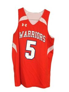 NWT Under Youth Armour Reversible Warriors Basketball Jersey SZ Youth Medium