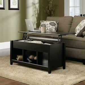 Lift Top Coffee Table Modern Furniture w Hidden Storage Compartment amp; Shelf $119.99